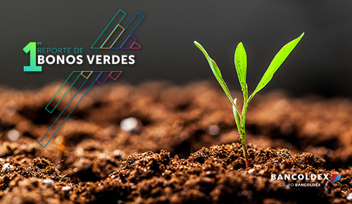 Primer reporte de Bonos Verdes Bancóldex